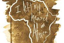 """África / """"Ser pela liberdade não é apenas tirar as correntes de alguém, mas viver de forma que respeite e melhore a liberdade dos outros.""""  Nelson Mandela"""