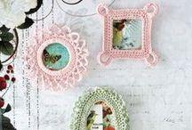 Diseños Decorativos a Crochet
