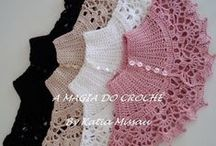 Polleras a crochet