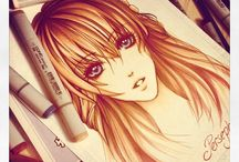 Anime Art / Message me the name of the board you want to be added to!~