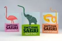Kids Drink Branding / Colourful and captivating- anything that little sticky fingers would love to get their hands on.