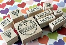 Catslife Press rubber stamps