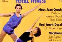 Yoga Journal Magazine / VINTAGE YOGA MAGAZINES: The 1st edition of the Yoga Journal magazine was publishes in 1975.  Take a look back at these vintage magazine covers between 1975-1989.  A great opportunity to look back at YOGA HISTORY.