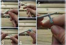 Crochet para zurdos - Left