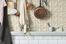 DO&CO Morris & Co / Morris&Co, wallpaper, fabrics, interior, home decor