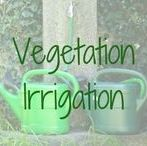 Vegetation Irrigation / Water and irrigate your trees and plants. Self watering tools and tips to keep your vegetation healthy.
