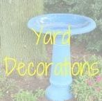 Yard Decorations / Make your garden a more beautiful and happier place