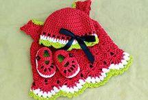 Bebes a crochet