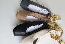 Ballerina_Leh / keyrings in ballerina shoes designed