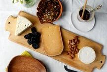 Cheese Board Ideas / Having a party and want to DIY your own cheese board? We want this board to serve as your tool to making a delicious and good-looking cheese tray! Elements of a good cheese board include a variety of good quality cheeses, meats, fruits, nuts, and spreads. Find inspiration below!