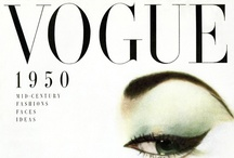 cover // vintage. / covers of vintage fashion magazines.