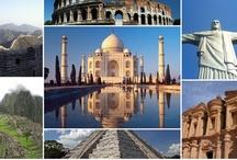 The Seven Wonders of the World / Photos des 7 merveilles du monde