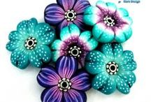 Polymer clay- Botanical / by Vickki Bryant