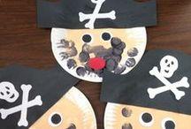 nápady pro děti - piráti