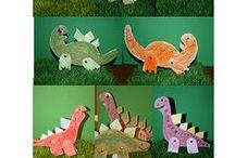 nápady pro děti - dinosauři