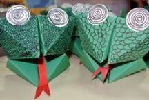 Nápady pro děti - žáby, želvy