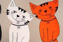 Nápady pro děti - psi a kočky