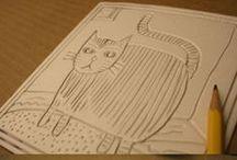 nápady pro děti - razítka, tisk