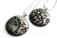 FIMO nápady - moderní vzory, zentangles, doodles
