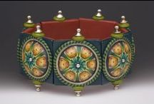 FIMO nápady - kaleidoskopy (pravidelné skládání z válečků)