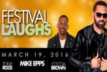 Festival of Laughs with Mike Epps - March 19, 2016 / Festival of Laughs is coming to Tampa featuring Mike Epps, Tony Rock and Cocoa Brown.  Mike Epps continues to generate an extraordinary amount of buzz among his peers for being one of the funniest comic actors in town! This is sure to be an unforgettable night of laughs!