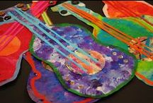 nápady pro děti - hudební nástroje
