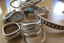 Silver and turquoise Jewelry / by Maria Brennan