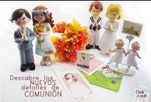 Primeras Comuniones / Las estampas, los vestidos, los regalitos, la figura de la tarta...Hay tantas cosas!!!
