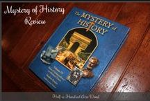 The Mystery of History / General information about The Mystery of History series -- how to organize it, reviews, and supplements.