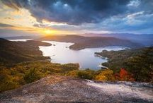 Upstate South Carolina / The beautiful places in the Upstate of South Carolina
