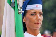 CROCEROSSINE INFERMIERE VOLONTARIE /  Military volunteer nurses from italian Red Cross