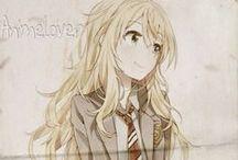 2D Character Anime / Manga / 2D Character Anime / Manga