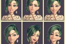 3D Character Expression
