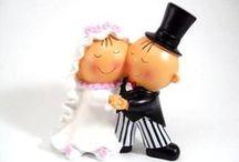 Tartas de boda. Wedding Cakes. / Las figuras más originales y divertidas para tu tarta de bodas.