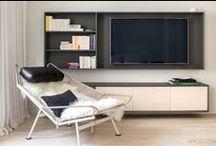 Cabinets, TV, etc