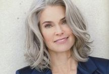 Gracefully Gray / Embracing the natural process of graying.