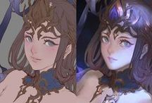 2D Making Of / WIP
