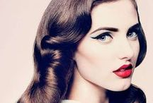 \\\Vintage / Everything from prohibition pin curls to bouffant blowouts.