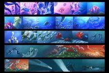 Storyboard / Color Script / Animatics / Storyboard / Color Script / Animatics