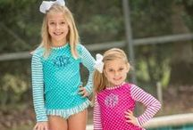 Girls Swim Suits and Cover Ups / This board is a collection of all classic and traditional swim suits and cover ups for children.