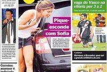 Primeira página / Capa do jornal Extra / by Jornal Extra