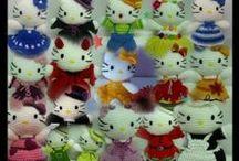 Amigurumis / Preciosos muñecos tejidos a ganchillo o crochet