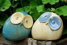 Art: Ceramic Owl / by Frieda Hoppen