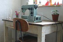 Sewing room - workspace ideas