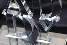 Akryylityöt - Acrylic works / Erilaisia akryylistä valmistettuja tuotteita. Different kind of producs made of acrylic.