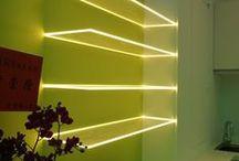 Akryylit ja LED valot - Acrylic and LED lightning / Akryylit sopivat erinomaisesti LED valaistukseen. Arcylic works with LED lightning.