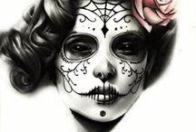 Calavera / Sugar skulls