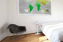 #MYFUTUREMAP / Customer images of their Future Maps in their homes. Be inspired and see how our maps look in different domestic and office environments.