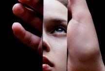 Photo reflection + mirror