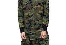 Camouflage Mens Clothings